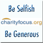 BeSimply...Selfish...Be Generous
