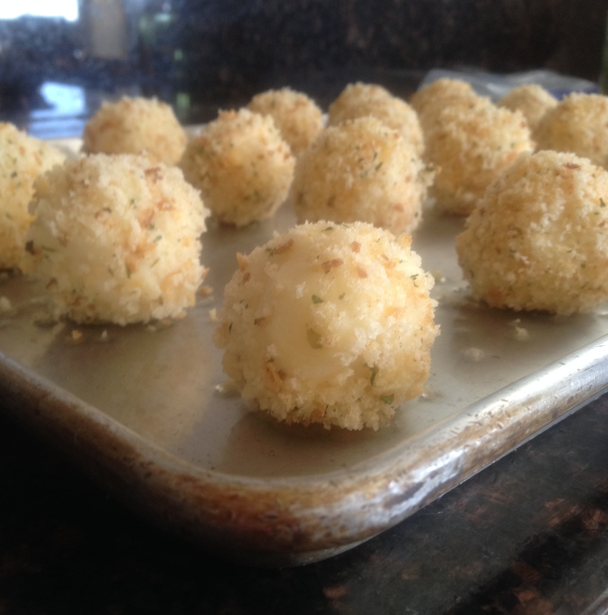 BeSimply...Mashed Potato Balls {Tao}