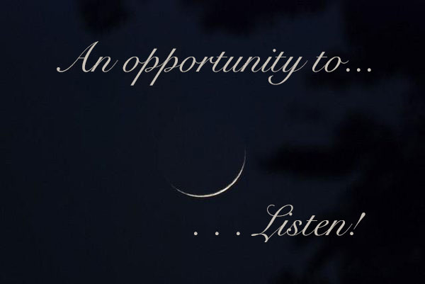 BeSimply...Listen to You {Sound&Silence}