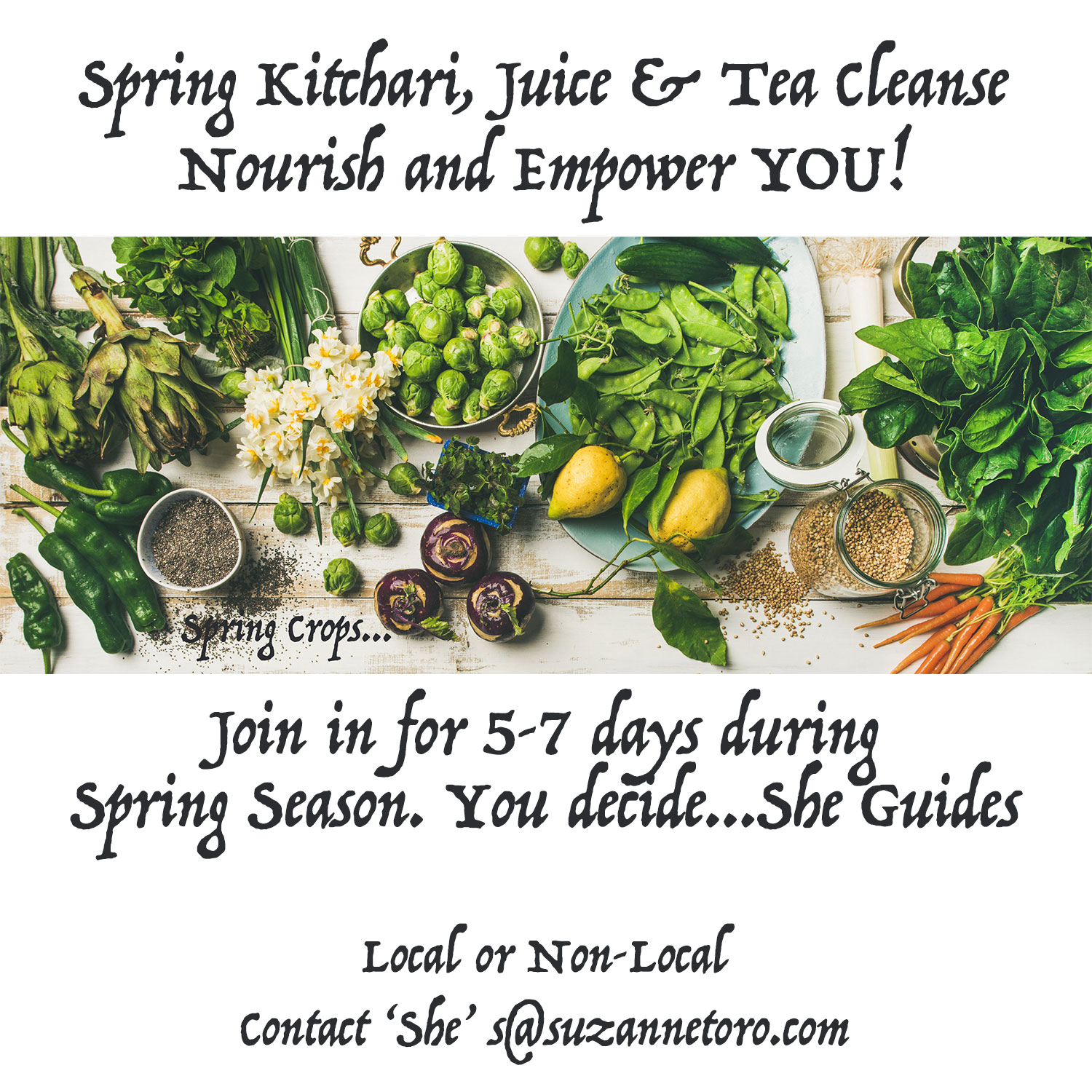 BeSimply...Spring Cleanse {Food Alchemy}