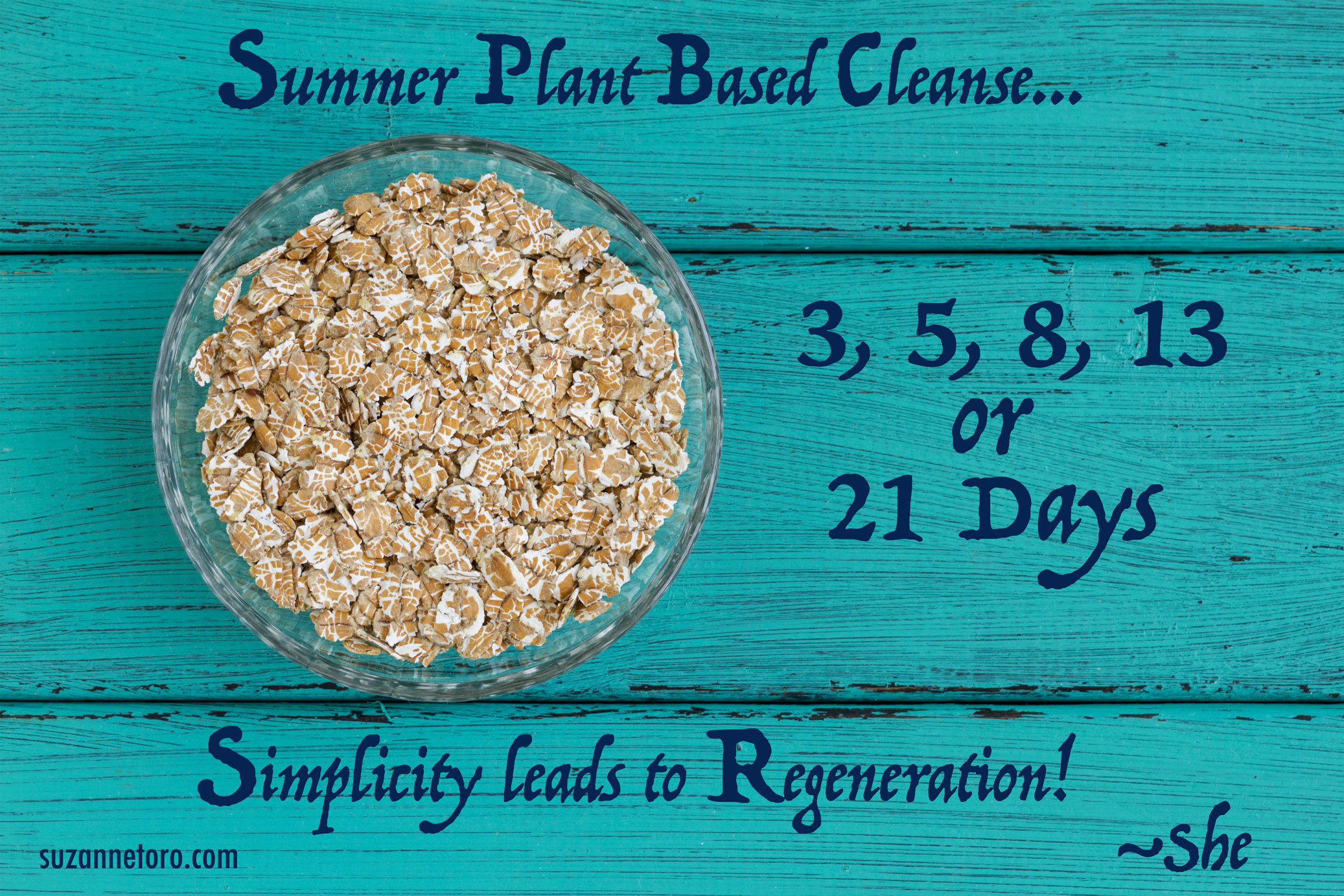 plant based cleanse summer