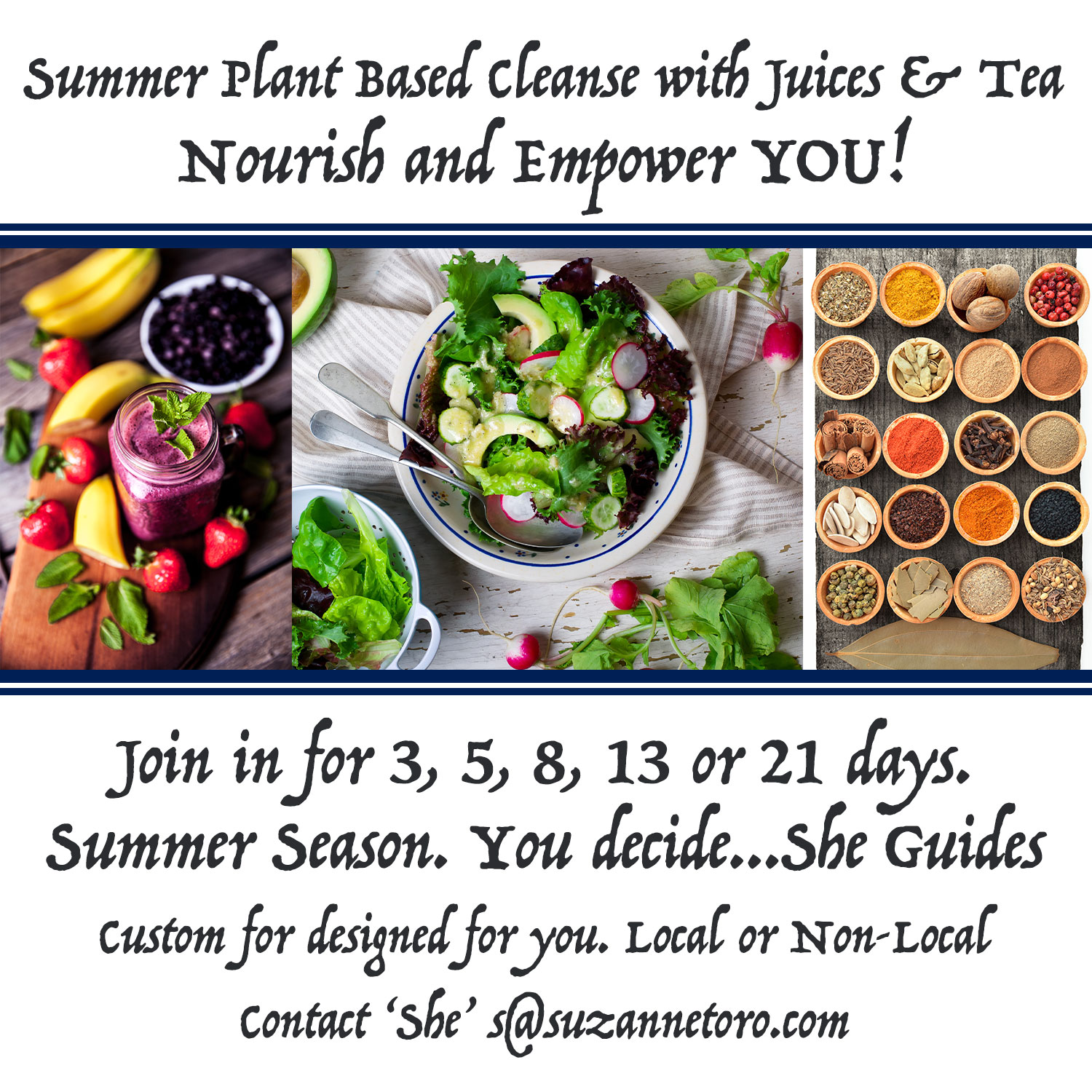 summer cleanse mindful eating