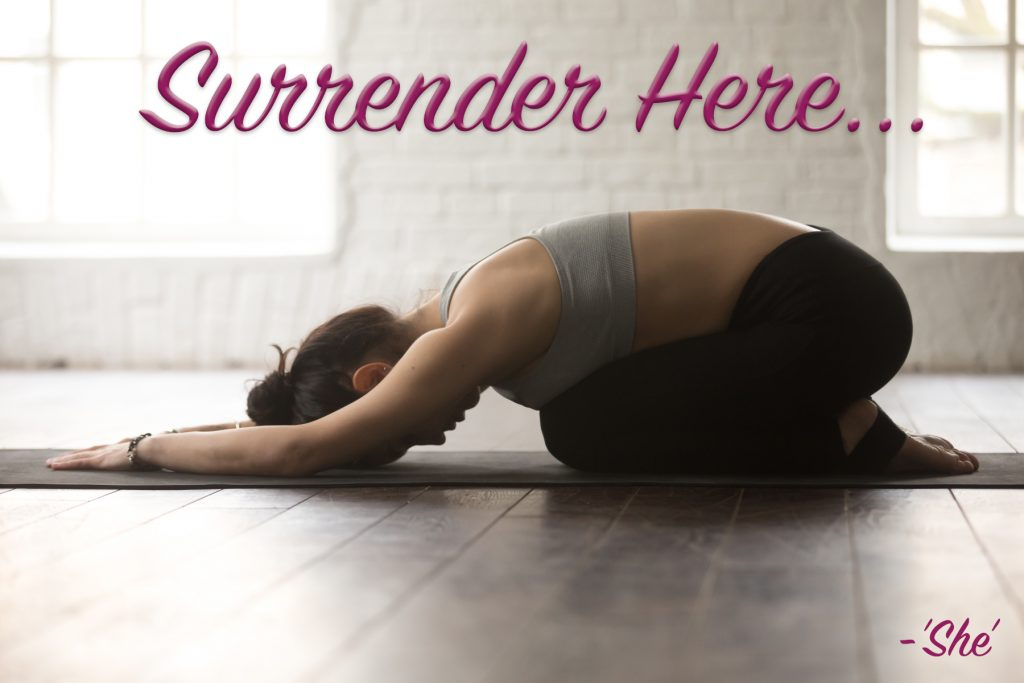 surrender here