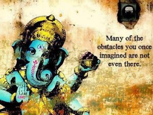 remove obstacles, ganesh